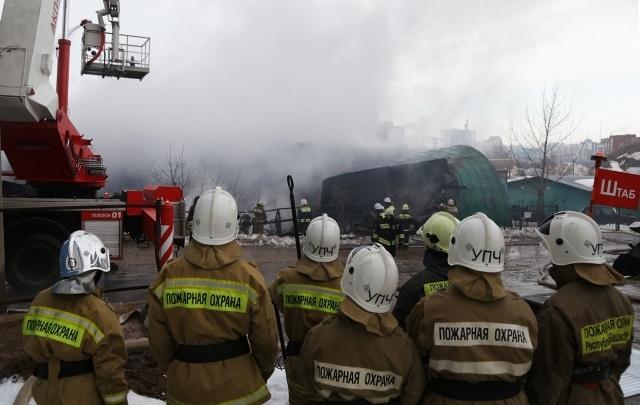 В Башкирии двое мужчин погибли в пожаре