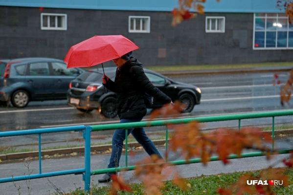 С ветрами обещают и дожди