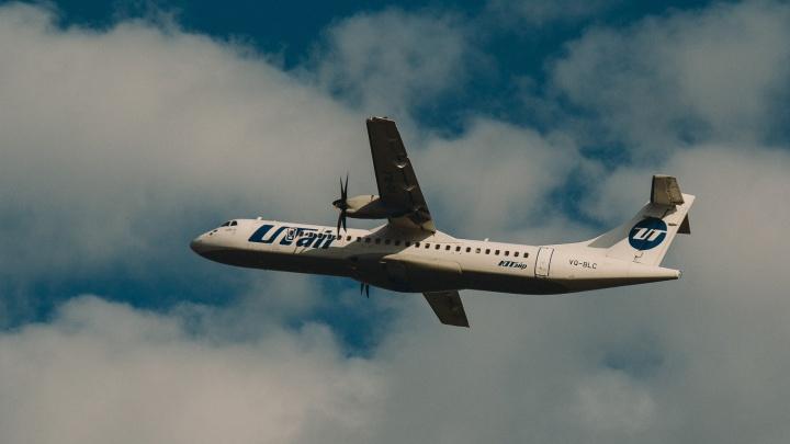 Самолет Utair на полпути развернули обратно в Тюмень из-за пассажира
