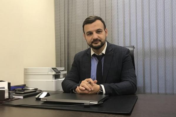 Руководитель юридической практики компании «Современная защита» в Красноярске Максим Колот