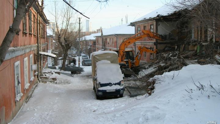 Уходит дух Свердловска: в центре города начали сносить панельные двухэтажки