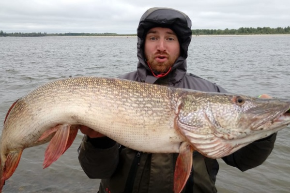 Поиск подходящей рыбы занял у рыболова два дня