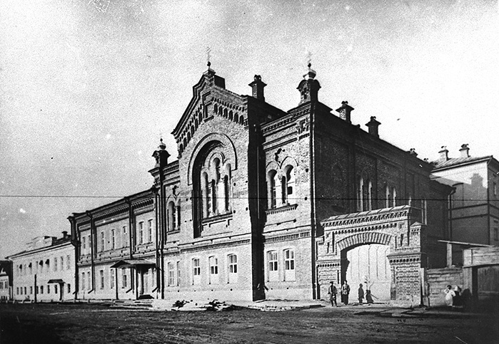 Так церковь выглядела раньше