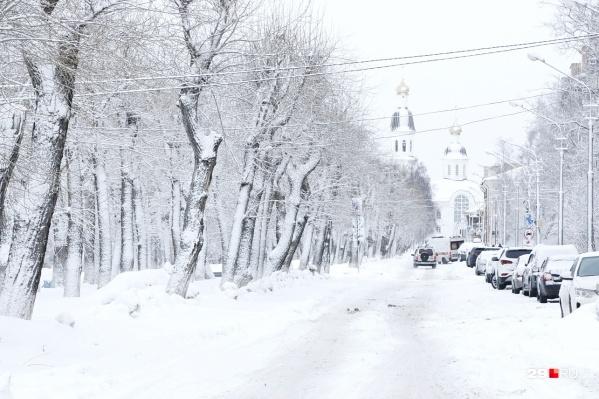 А вам нравится зимний Архангельск?