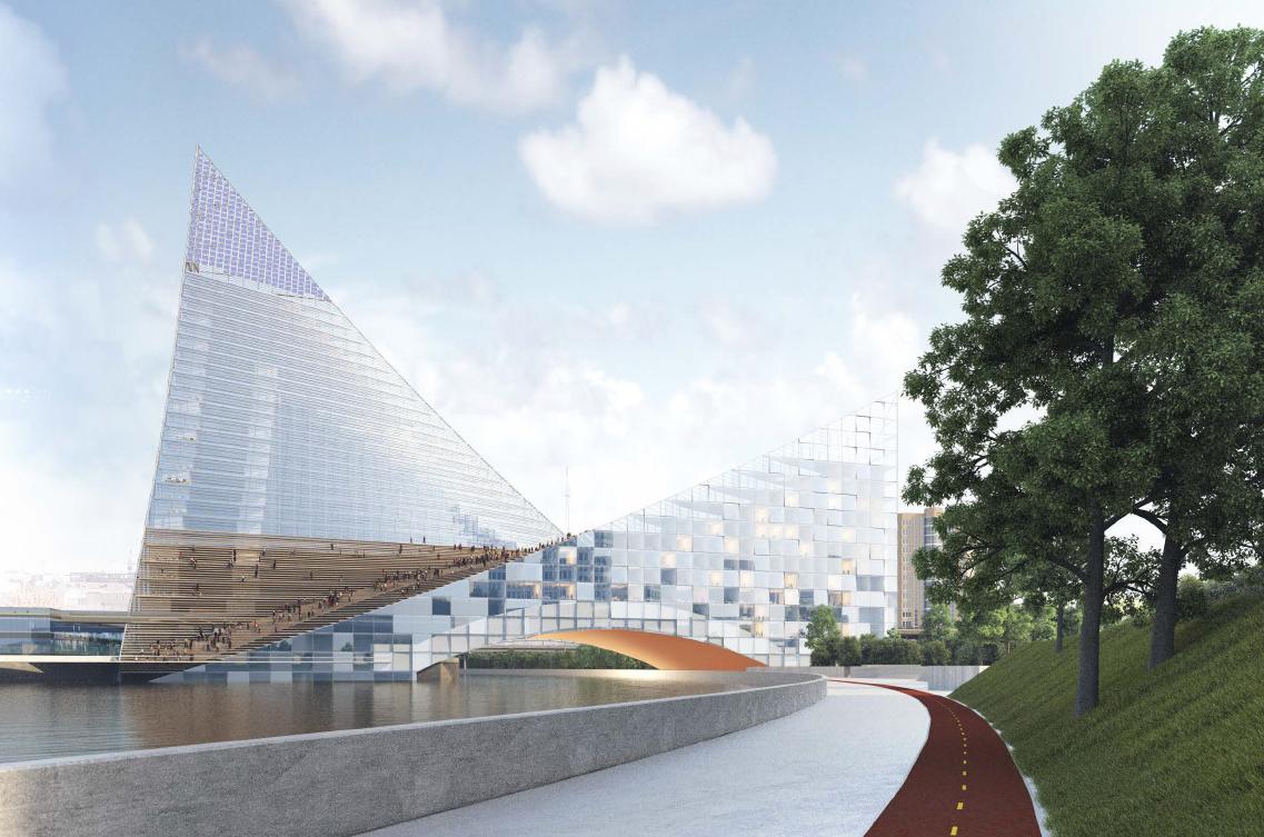 Так спроектировано здание будущего конгресс-холла
