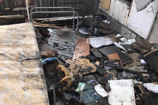 Пожар произошел 4 июня, во вторник