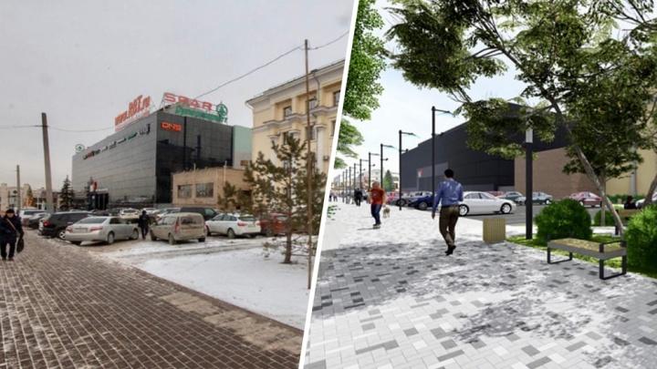 Челябинские урбанисты придумали проект прогулочной зоны в районе областного правительства