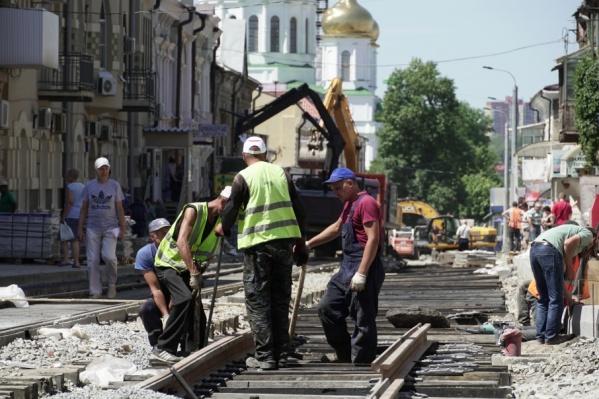Так проходили ремонтные работы на Станиславского