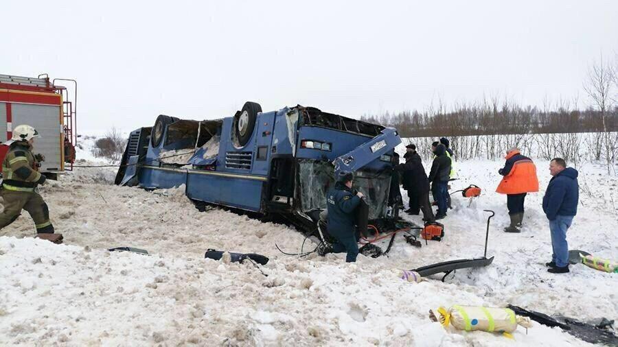 ДТП вКалужской области: 7 человек погибли, 28— в клинике