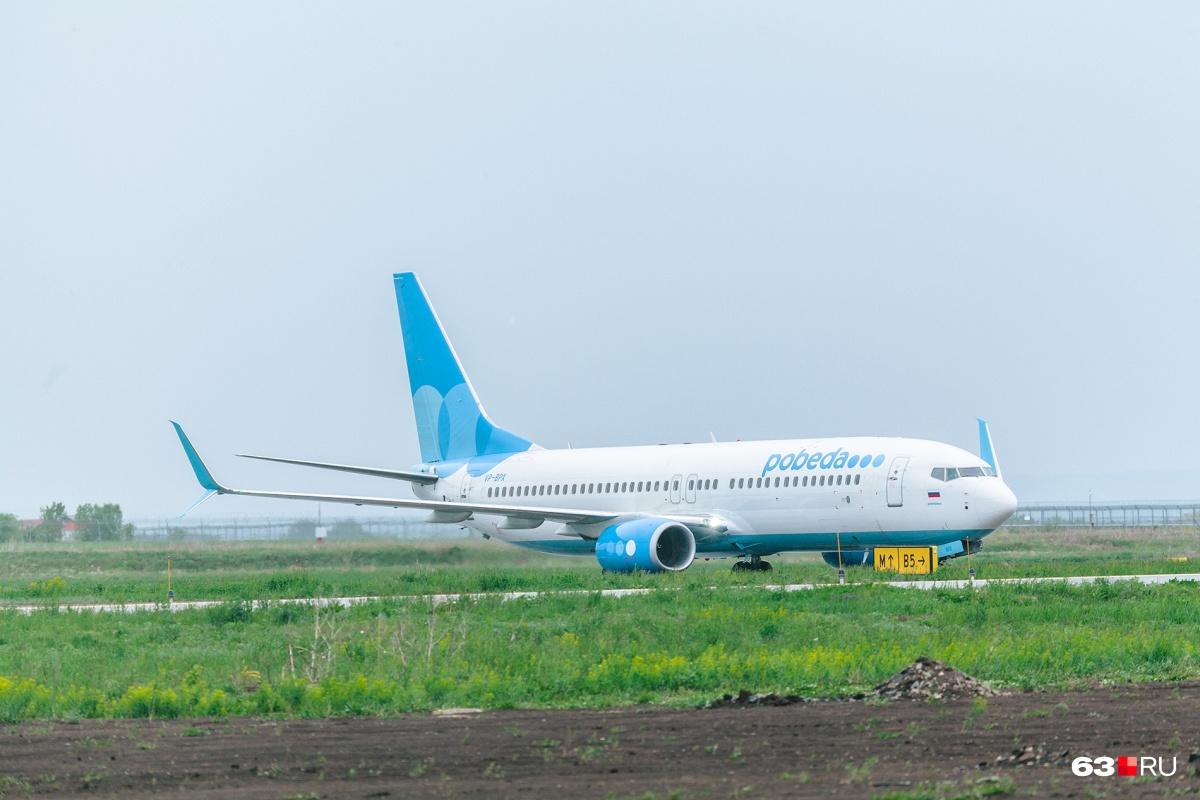 Обслуживать полеты в Питер будетBoeing 737–800