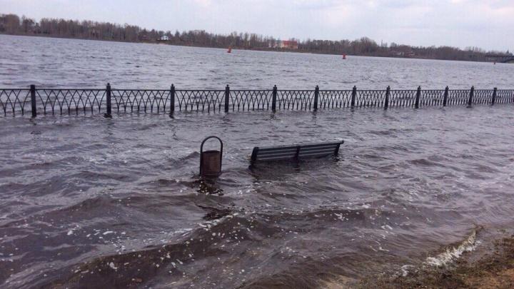 В МЧС предупредили о возможном затоплении набережной Рыбинска