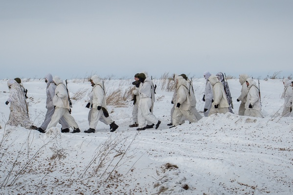 Учения проходили у всех связистов 41-й армии