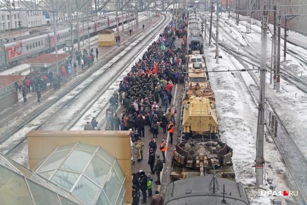 Выставка стартовала в Москве в конце февраля
