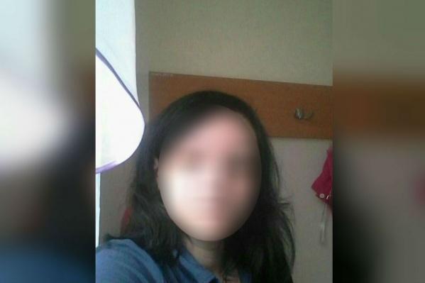 Фото пропавшей женщины