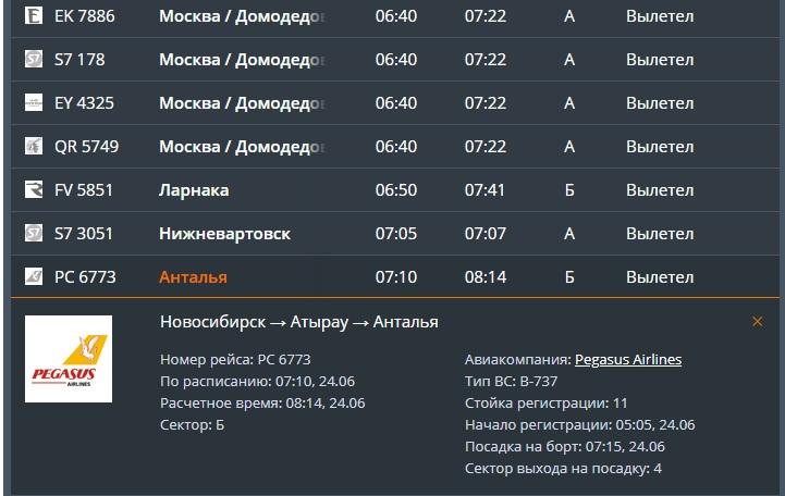 Вылетевший из Российской Федерации самолет экстренно посадили вКазахстане0