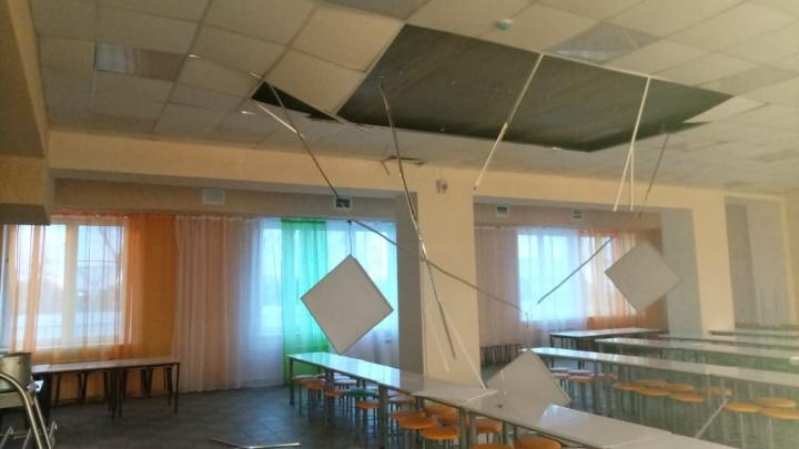 Прокуратура начала проверку по факту обрушения потолка в школе в Сафакулево