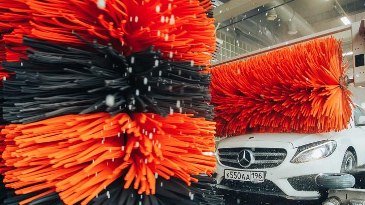 Цены пополам: на конвейерной мойке почистят любой автомобиль перед Днем Победы