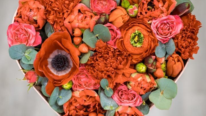 Охапка тюльпанов и ирисов за 499 рублей: в Новосибирск завезли цветы к 14 февраля