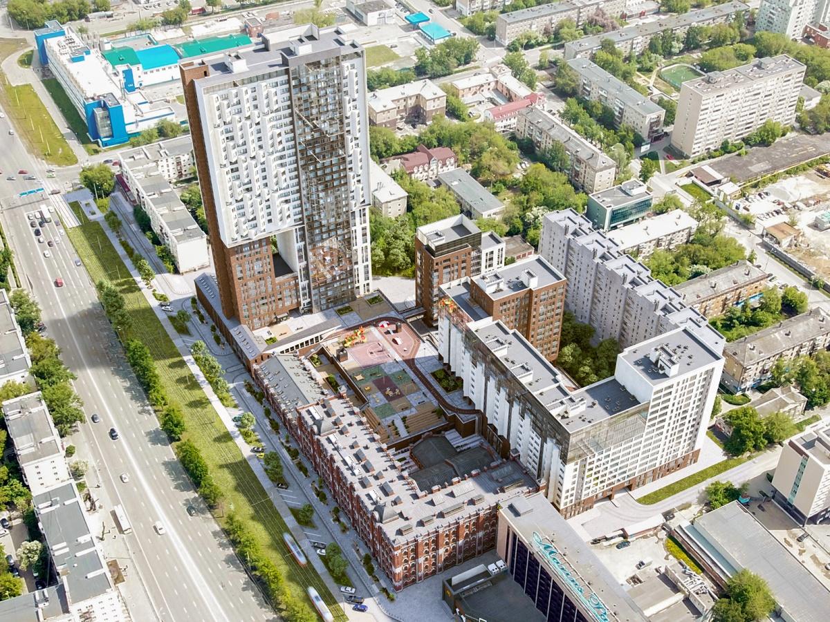 Уникальный «гонконгский небоскреб» скоро появится в центре Екатеринбурга
