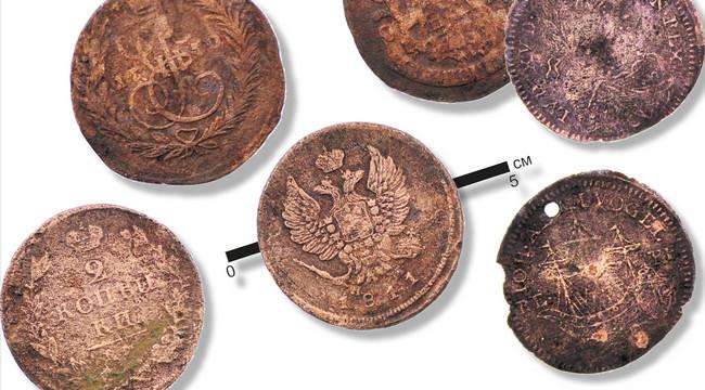 Найденные у Фрузенского моста монеты и счетные жетоны завозили на Волгу из Западной Европы