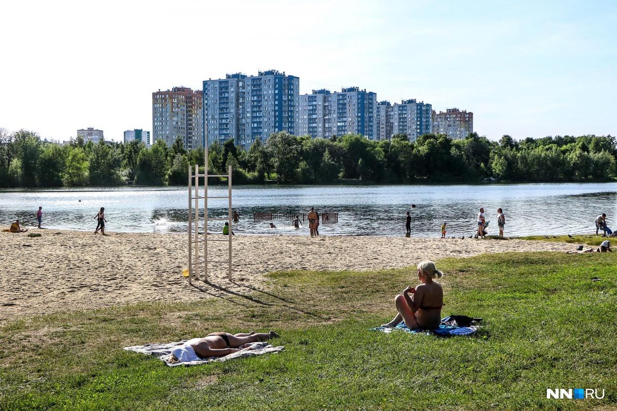 В начале недели погода позволит после работы отдохнуть на пляже