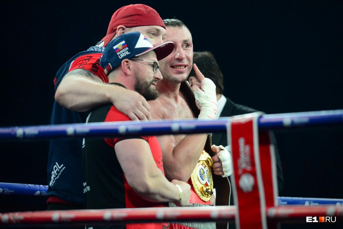 Титул чемпиона по версии IBF Inter-Continental — у Юрия Кашинского