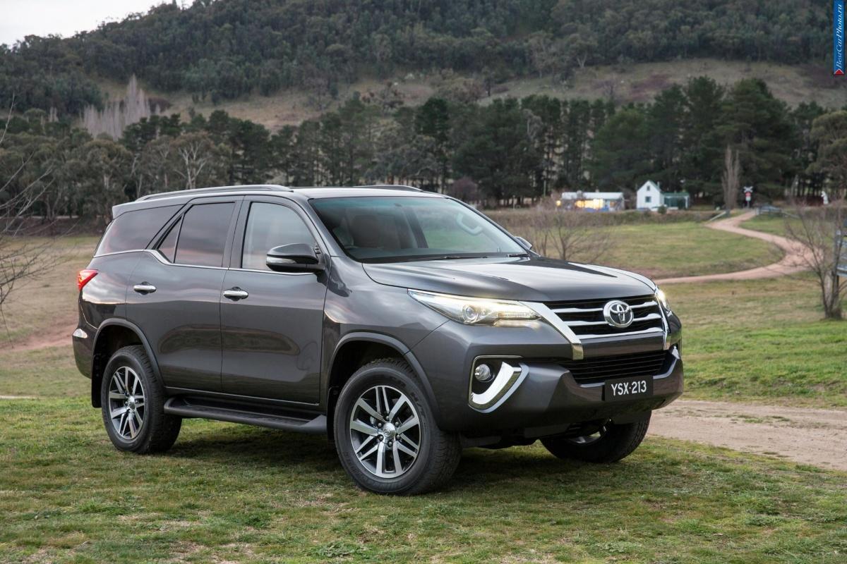 Toyota показала новый рамный джип (фото)