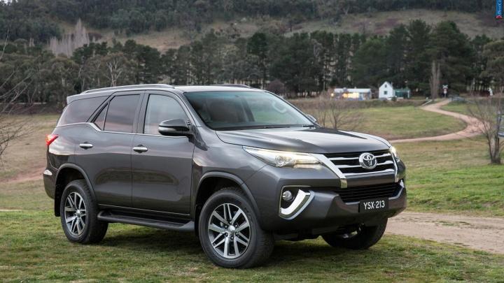 Toyota показала новый рамный джип