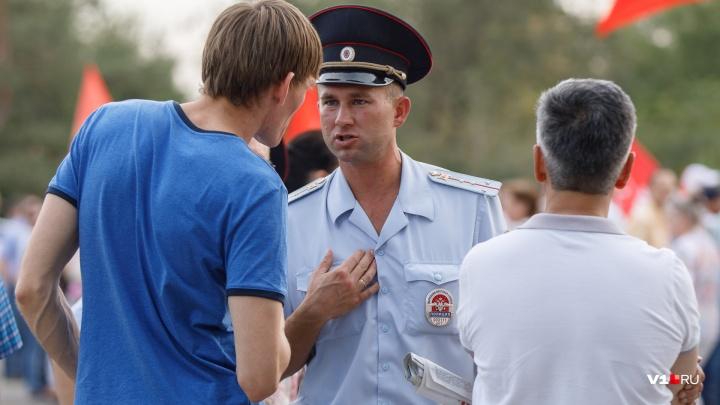 В Волгограде выбывшие из гонки кандидаты в губернаторы не поделили площадь для митинга