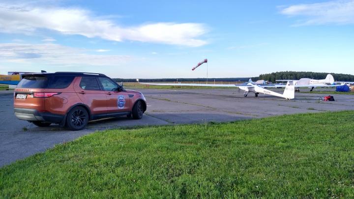 Федор Конюхов посадил в Ростовской области самолет на солнечных батареях