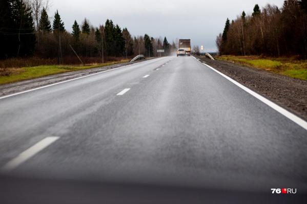 ДТП случилось недалеко от выезда из Ярославля