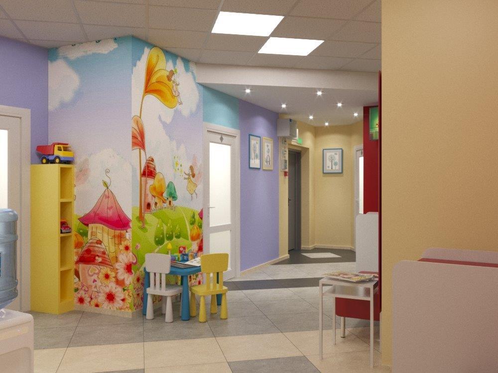 Интерьеры новой клиники делают ее похожей на сказочный замок