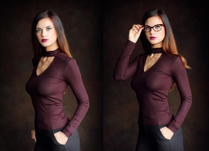 Фотопроект иллюстрирует, как благодаря нескольким очкам можно создать абсолютно разные по настроению образы