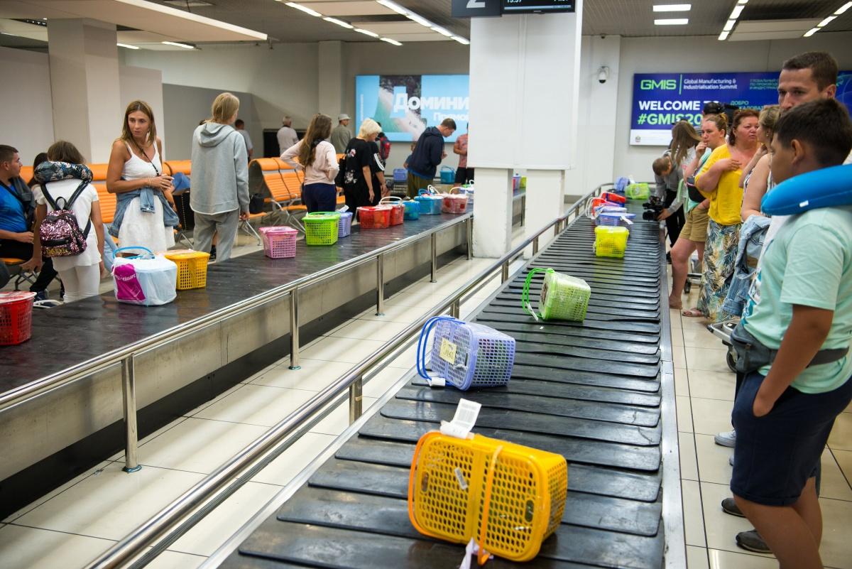 Эти корзины с манго и папайей успели прилететь в Екатеринбург еще до новых ограничений