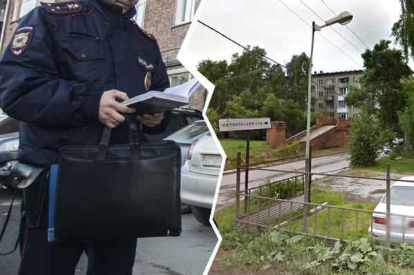 По версии обвинения, пьяный прохожий ударил полицейского в челюсть возле дома на улице Лескова