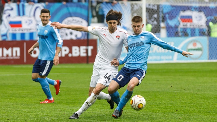 «Ротор» победил «Химки» на «Волгоград Арене» 1–0