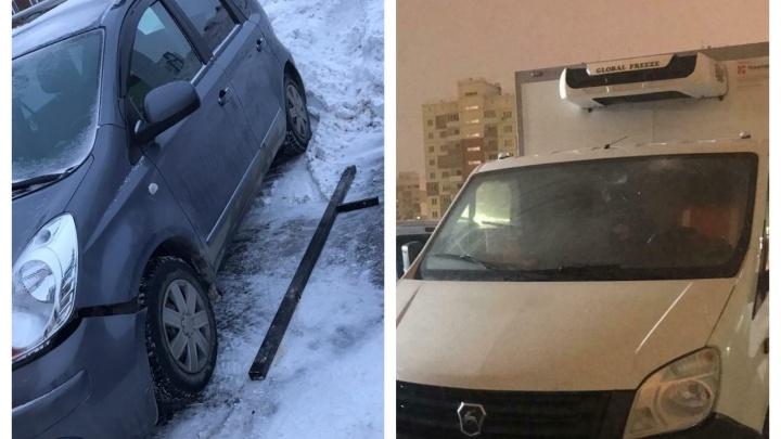 Задел три авто, требовал удалить фото и полез в драку: новосибирец написал заявление на водителя-дебошира