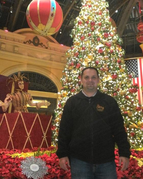 Интерьеры казино «Белладжио» перед Рождеством