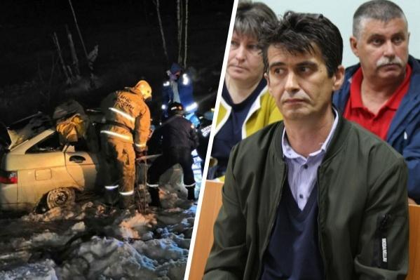 Водитель лесовоза Иван Казаков отказался признавать вину в смертельном ДТП