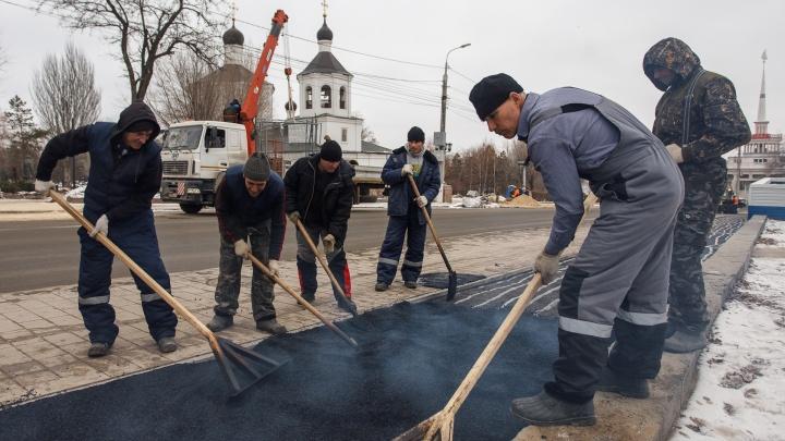 Администрация Волгограда: «Сорваны сроки благоустройства сквера Пушкина и склона реки Царицы»
