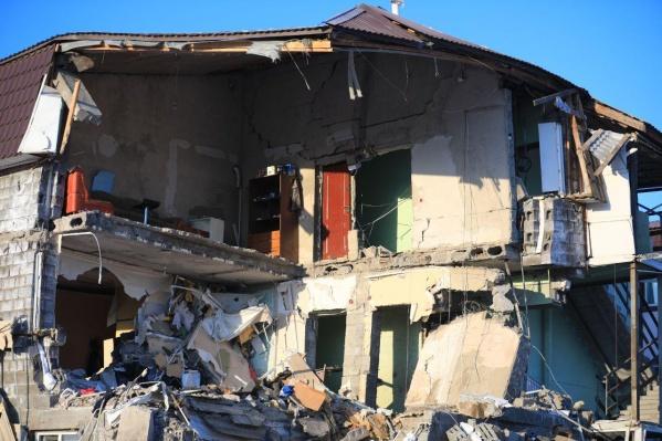 Газ в доме взорвался 14 февраля, погибли два человека