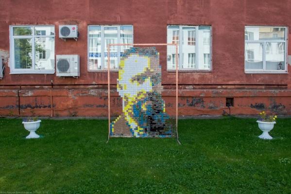 Вот так выглядит портрет Мешкова в исполнении Жунёва