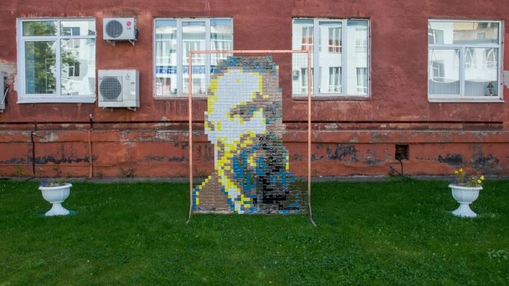 «Помним и ценим». На территории ПГНИУ выставили арт-объект Александра Жунёва