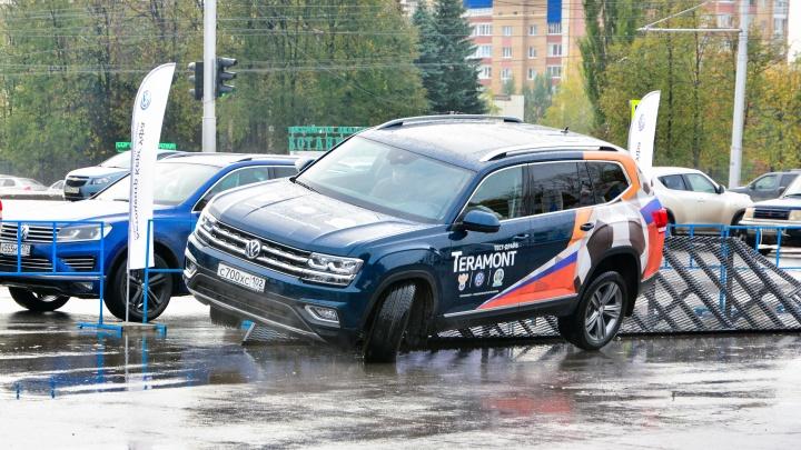 Большой OFF-ROAD Volkswagen в Уфе