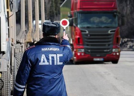 ГИБДД начала штрафовать водителей за отсутствие карт и тахографа