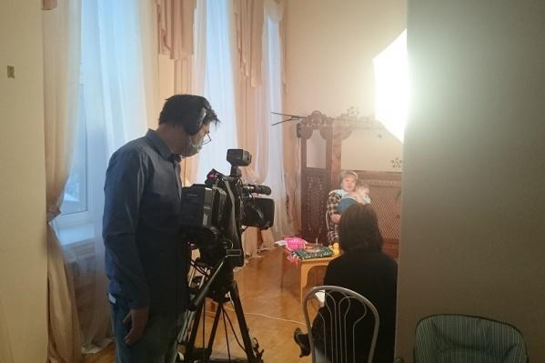 В башкирской столице прошли съёмки программы «Когда все дома»