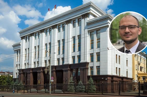 Глава региона уволил директора АИР Алексея Бобова...