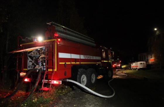 Строительная компания в Устьянском районе лишилась котельной из-за пожара