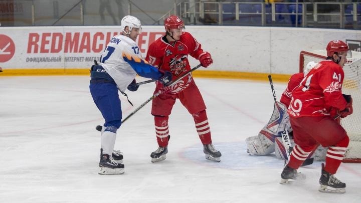 ХК «Ростов» сыграл против хоккеистов из Узбекистана: публикуем яркие кадры матча