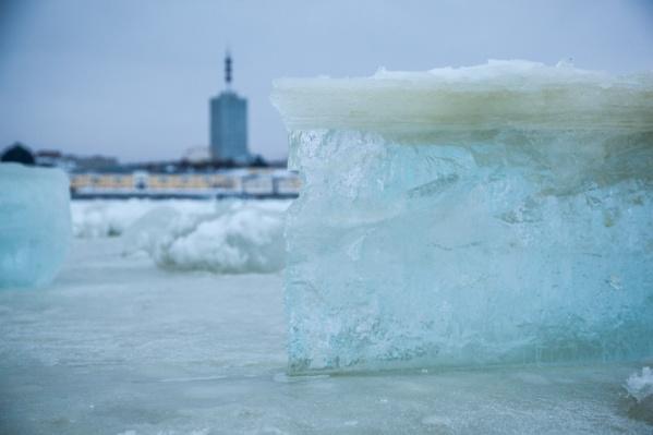 Таяние льдов начнется не раньше 15 апреля